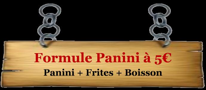 écriteau panini