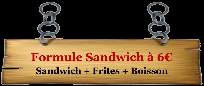 ecriteau sandwich