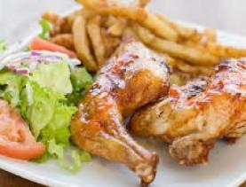 Assiette poulet